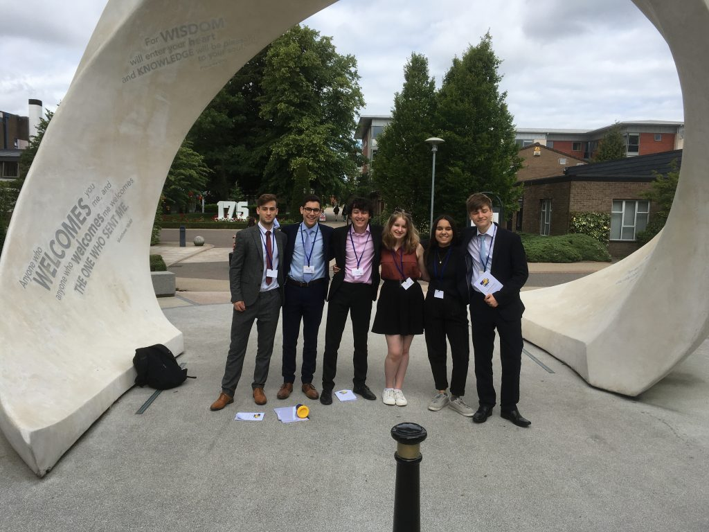 Habs Win European Youth Parliament Uk National Session -7901